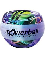 Kernpower 069 Powerball The Original Gyroscope de fitness lumineux avec rotor breveté Violet/bleu/rouge