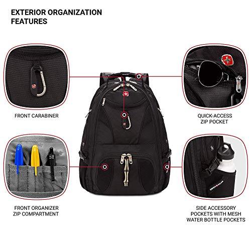 Backpack -Scansmart /Black - 19002215 Image 4