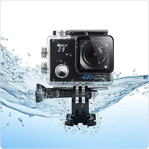 'Helmkamera Sport 4K WiFi TaoTronics Action Cam 30fps 16MP Ultra HD Wasserdicht IPX830m mit Weitwinkel 170°, LCD-Display 2.0Zubehörset für Schwimmen und andere Outdoor Sports von Air, mit Akku