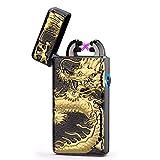 BBLAC 2KEY Briquet électrique Double Briquet Créole Eagle Lion Scorpion Dragon par...