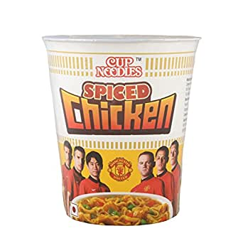 Nissin Cup Noodles - Spiced Chicken, 70g Cup