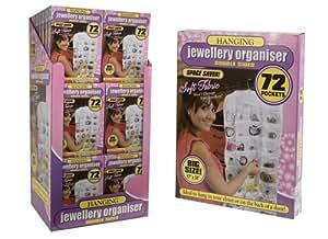 PMS Pochette de rangement pour bijoux à suspendre