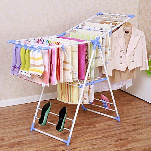 Klappständer, Wäscheständer, Balkonständer, Kleiderständer für innen und außen ( größe : 82cm )