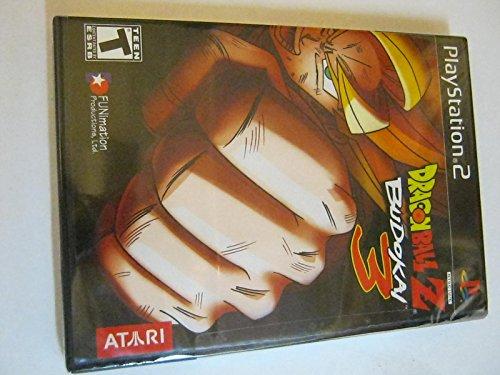 Dragon Ball Z BUDOKAI 3 PLAYSTATION 2 Black Label
