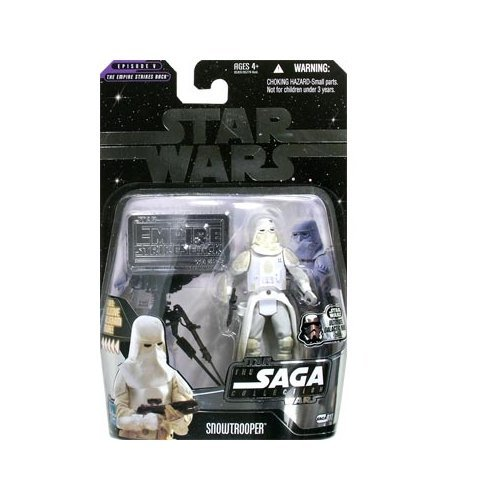 Star Wars: The Saga Collection Ultimate Galactic Hunt Snowtrooper (#11) Action Figure