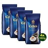 EILLES Kaffee Espresso 4x 1000g (4000g) - Premium Espresso Kaffeebohnen