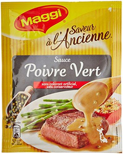 Maggi Sauce Poivre Vert - Lot de 4