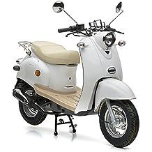 Motorroller Nova Motors Retro Star 50 weiß - 45km/h
