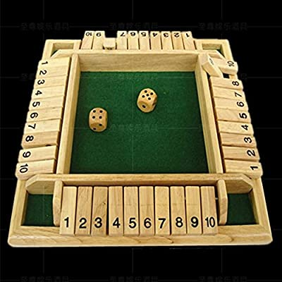 quatre personnes The Box Board Game Nombre Set Drinking Games