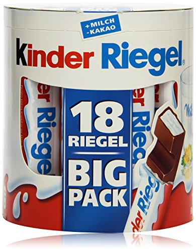 Preisvergleich Produktbild Kinder Riegel,  18 Stück,  378 g