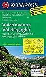 Carta escursionistica n. 92. Valchivenna, Val Bregaglia 1:50000: Wandelkaart 1:50 000