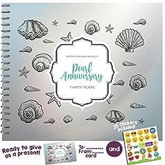 Idea Regalo - Libro dei ricordi dell'anniversario Thirty Years