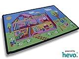 Puppenhaus HEVO® Teppich | Spielteppich | Kinderteppich 140x200 cm Oeko Tex 100