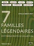 7 familles légendaires d'appareils photo de collection