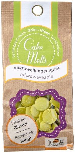 RBV Birkmann CakeMelts, grün,250g (Schokolade Pops Für Cake)