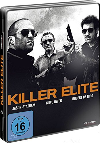 Killer Box (Metall Box: Killer Elite (FSK 16 Jahre) Blu-Ray)