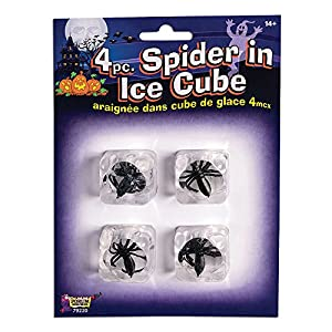 Forum Novelties X79220 - Figura de araña en cubitos de hielo, talla única