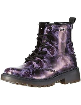 Geox Mädchen J Casey Girl K Combat Boots