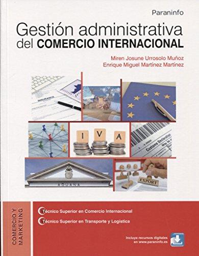 GESTION ADMINISTRATIVA DEL COMERCIO INTERNACIONAL descarga pdf epub mobi fb2