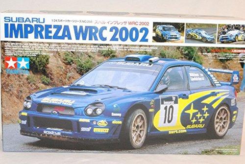 Subaru Impreza WRX WRC STI 2002 Mäkinen Rally 24259 Kit Bausatz 1/24 Tamiya Modell Auto Modell Auto