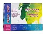 takestop Notizbuch Zeichenblock Aquarellblock Aquarellpapier Water Colour Farben A3297x 420mm Album Folio 1600GSM 24Blätter Position Schule