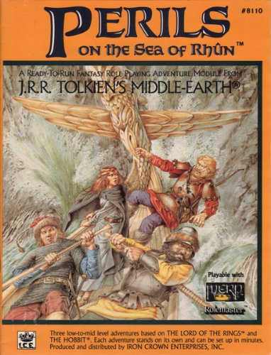 Perils of the Sea of Rhun (Middle Earth Game Supplements, Stock No. 8110) -
