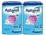Aptamil ProExpert HA 2, Hypoallergene Folgemich, ab dem 6. Monat EazyPack, 2er Pack (2 x 800g)