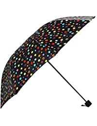 Umbrella Mart 3 Fold Digital Printed Rain & Sun Protective Umbrella (Multi)
