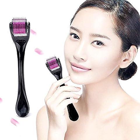 Aodoor 0.5mm 540 Needles Mikronadel Titannadel Roller, Beauty-Produkten, tägliche Hautpflege,
