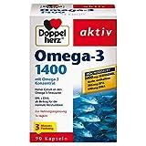 Doppelherz Omega-3 1400 mg / 3-Monats-Packung / Nahrungsergänzungsmittel mit...