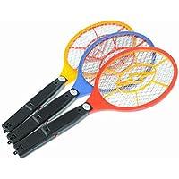 yaohome recargable LED eléctrico Bug Pest Fly Killer matamoscas mosquitos raqueta