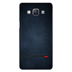 official photos 07c48 8c057 CrazyInk 3D Back Cover for Samsung A7 2015 - Blue: Amazon.in ...