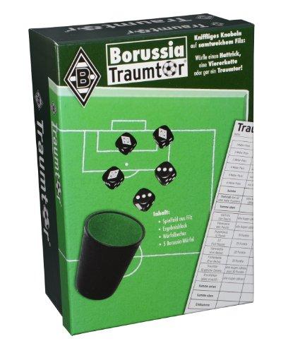 Teepe Sportverlag 18950 - Borussia Mönchengladbach Würfelset Traumtor
