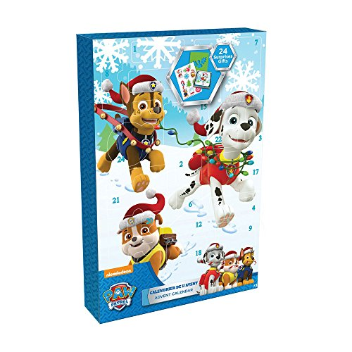 Paw Patrol DARP-CPAW086 Advent Calendar with 24 Surprise Gift
