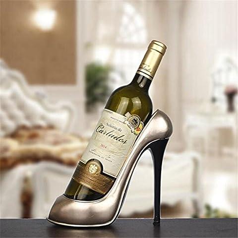 Wmshpeds Im europäischen Stil home, Wohnzimmer Dekoration, High Heels Wine Rack, Harz Handwerk, home Dekorationen