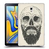 Head Case Designs Officiel Balázs Solti Barbe n'est Pas Morte Crânes Étui Coque en Gel Molle pour Samsung Galaxy Tab A 10.5 (2018)
