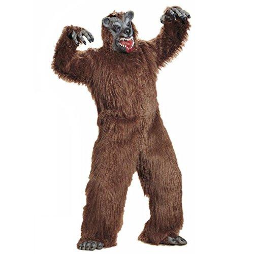 Widmann 5090O Erwachsenen Kostüm Bär, Unisex-Adult, Braun, One Size