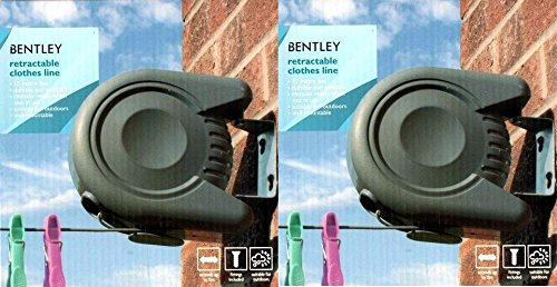 2-x-bentley-retractable-washing-line-cloths-wall-mounted-outdoor-laundry-clean