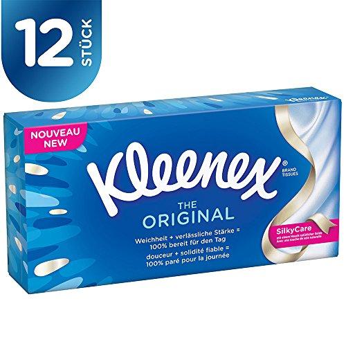 Kleenex Original Tücher Box, 12er Pack (12 x 88 Stück) -