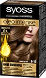 Syoss Oleo Intense Haarfarbe, 6-10 Dunkelblond, 3er Pack(3 x 115 ml)