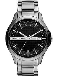 Armani Exchange Hampton Analog Black Dial Men's Watch - AX2103