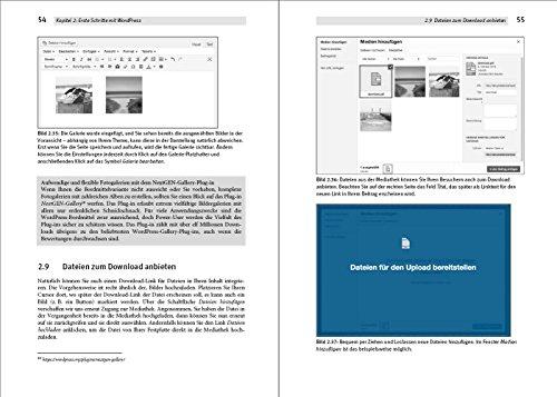 Das WordPress Praxishandbuch: Der Bestseller, nun fur WordPress 4.6 (4., aktualisierte Auflage) - 6