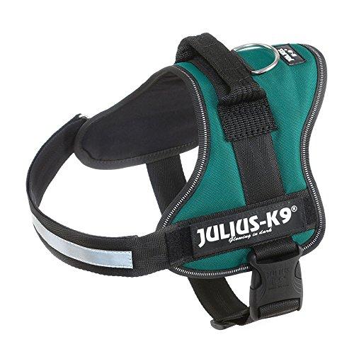 Julius-K9 162DG-0 Power Harness, Tamaño 0, Verde Oscuro