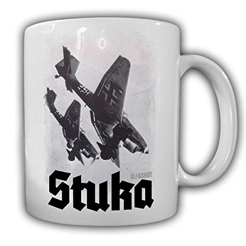 Stuka im Sturzkampf Ju87 Bomber Flugzeug Luftwaffe Bild Foto Wk2 - Tasse #19789
