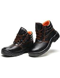 DDTX Unisex-Adultos 'Lightweight Steel Toe Hiker Zapatos de seguridad de trabajo Azul(42) b96H26dD00