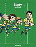 Rugby libro para colorear 1: Volume 1