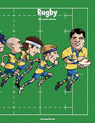 Rugby libro para colorear 1: Volume 1 por Nick Snels