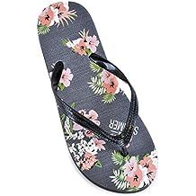 DINZIO Damen-Mädchen-Flip Flop Summer Beach Pool Schuhe Marine s0wfOoh1