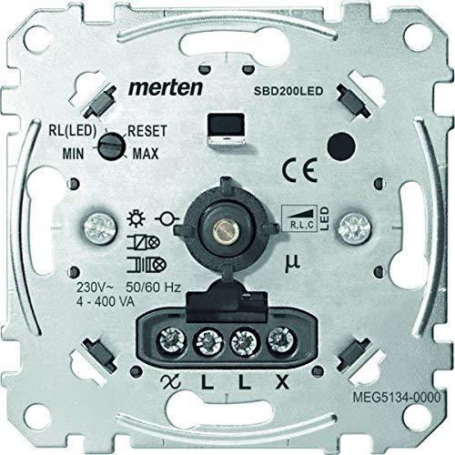 Merten MEG5134-0000 LED-Drehdimmer MEG5134-000