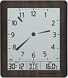 ams 5893 digital horloge murale radio pilot e affichage de. Black Bedroom Furniture Sets. Home Design Ideas